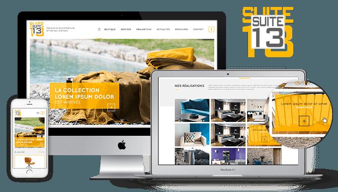 site web suite 13 ceasy. Black Bedroom Furniture Sets. Home Design Ideas